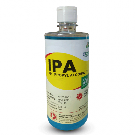 Hand Sanitizer with IPA | Santizer with Alcohol 70% Plus