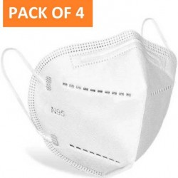 N95 Masks - Premium Range | N95 Facemask |  Pack of 4