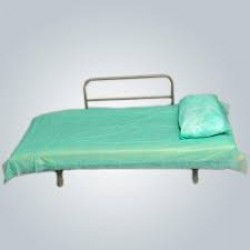Disposable Bed Sheets with Pillow Cover ( Pack Of 10 )