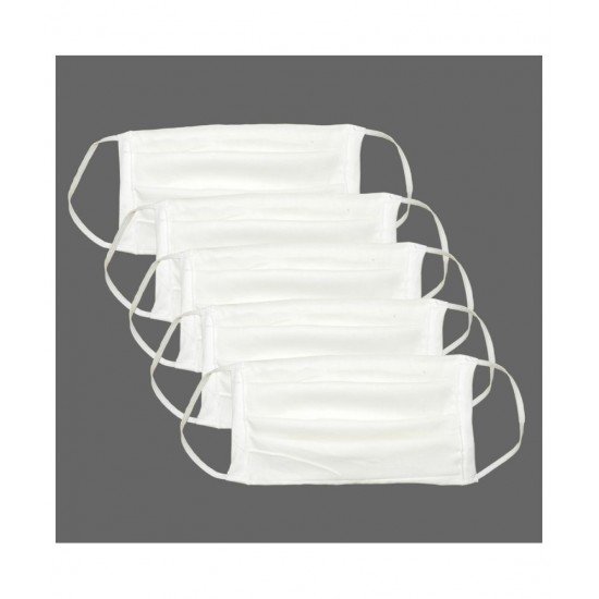 Double Layered Cotton Reusable Face Mask   Premium Quality face mask ( Pack of 50 )