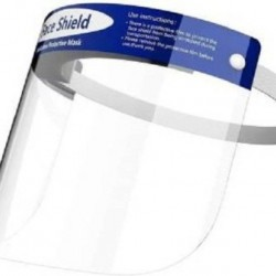 Protective Face Shield for Maximum Protection  Pack of 20